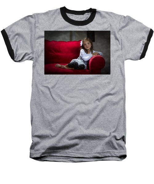 Beauty Baseball T-Shirt by Kevin Cable