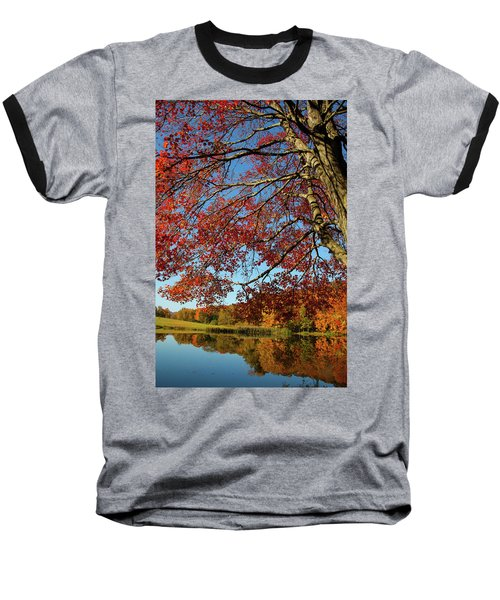 Baseball T-Shirt featuring the photograph Beauty Of Fall by Karol Livote