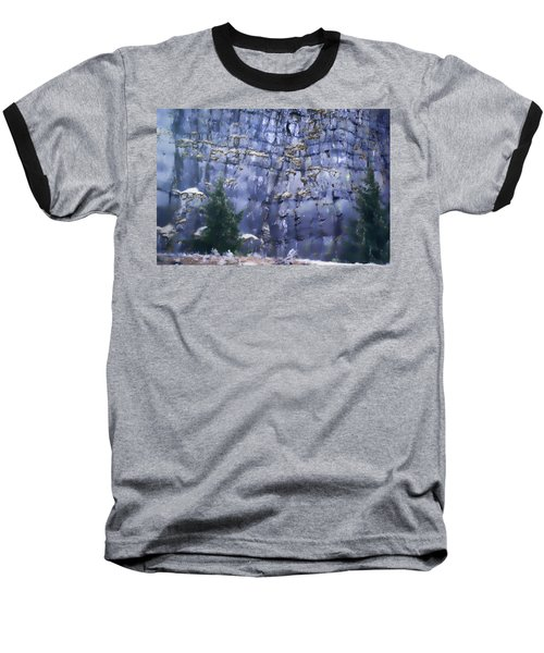 Beauty Of The Gorge Baseball T-Shirt by Dale Stillman