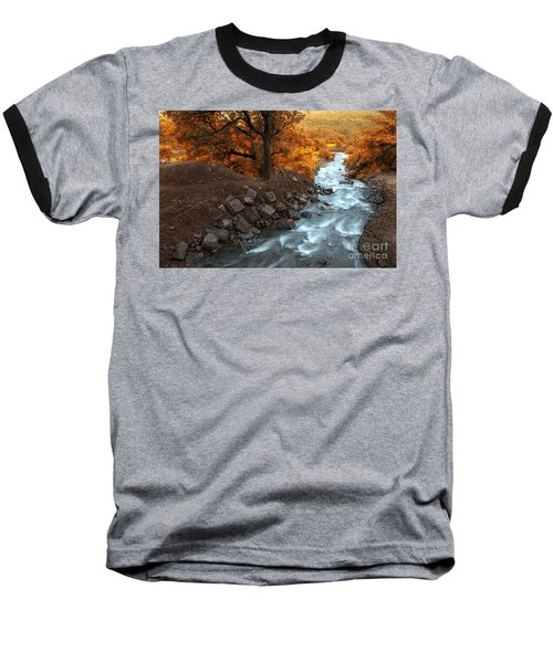 Beauty Of The Nature Baseball T-Shirt by Charuhas Images