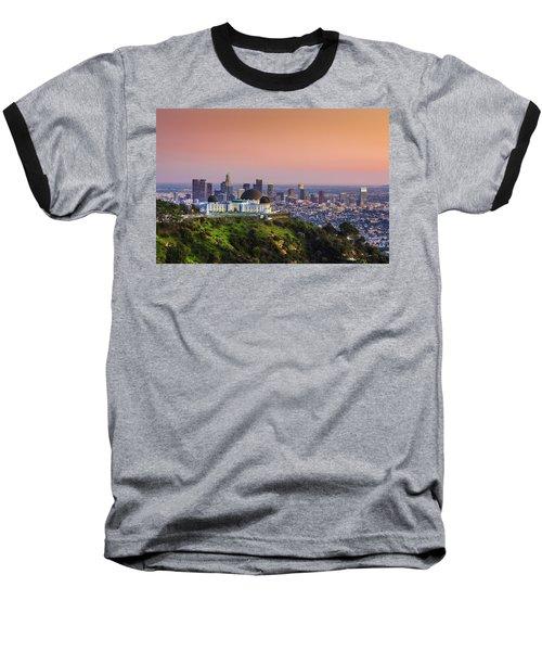 Beauty On The Hill Baseball T-Shirt