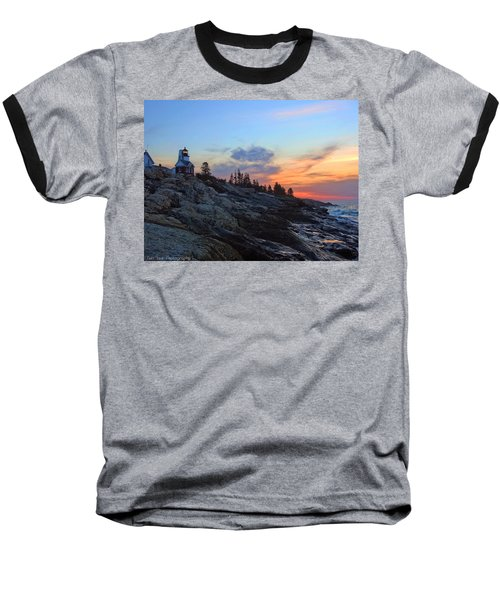 Beauty On The Rocks Baseball T-Shirt
