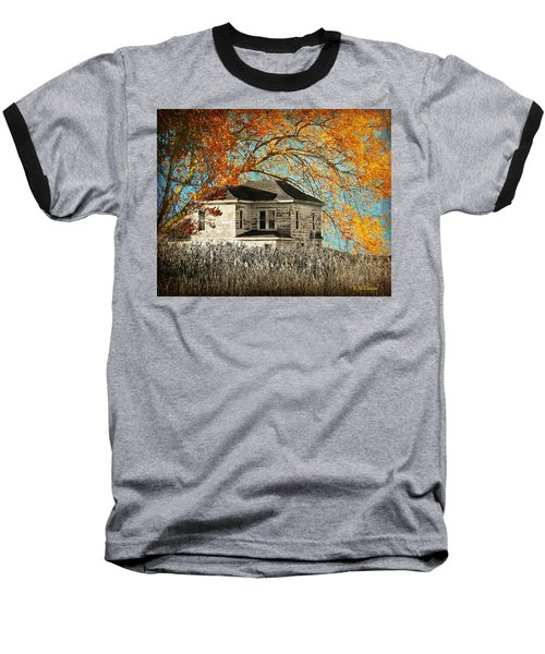 Beauty Surrounds Deserted Home Baseball T-Shirt by Kathy M Krause