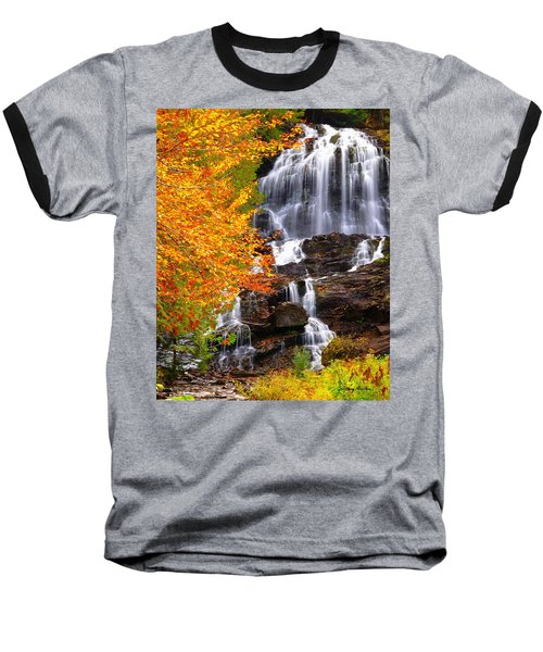 Beaver Brook Falls Baseball T-Shirt
