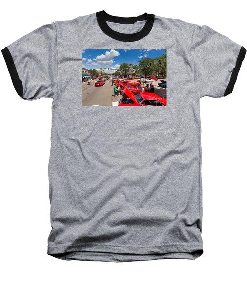 Beaver Car Show  Baseball T-Shirt