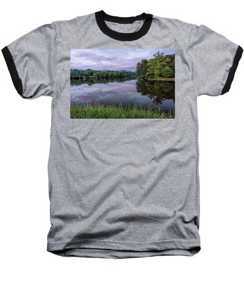 Beaver Lake Reflections Baseball T-Shirt