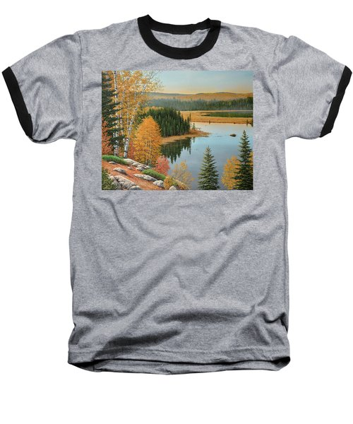 Beaver Pond Lookout Baseball T-Shirt