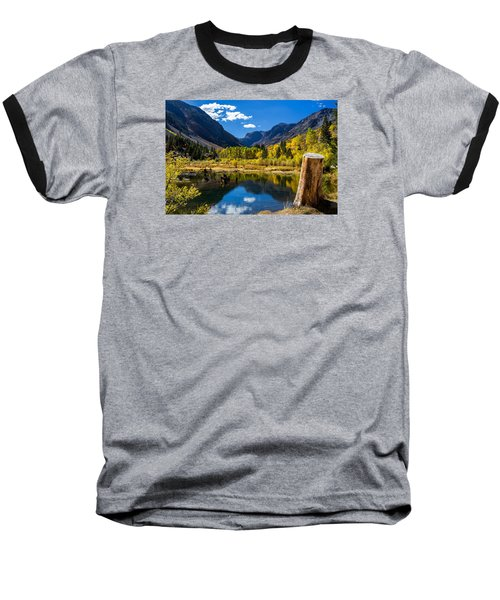 Beaver Pond Baseball T-Shirt by Tassanee Angiolillo