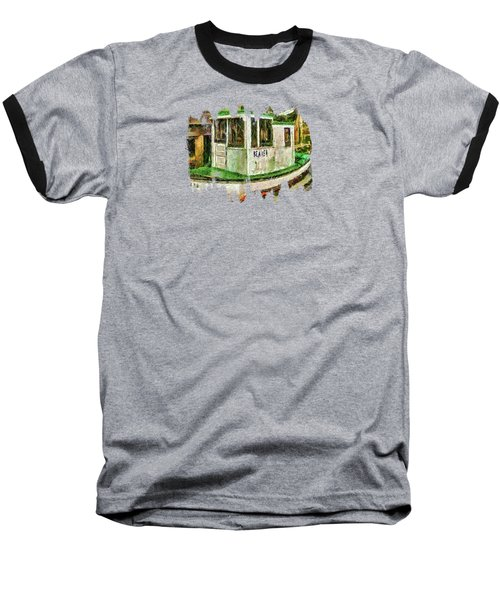 Beaver The Old Fishing Boat Baseball T-Shirt by Thom Zehrfeld