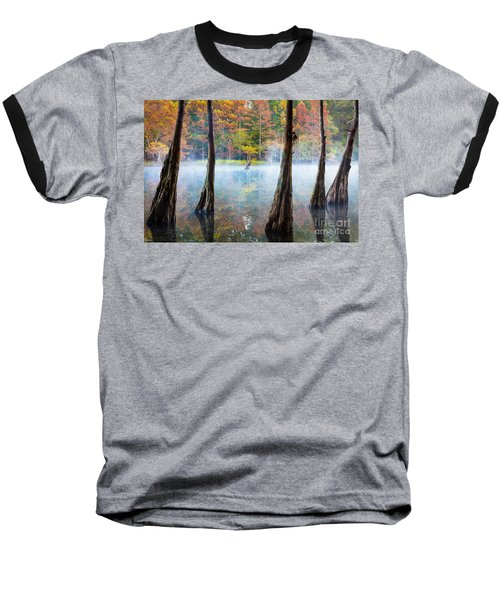 Beavers Bend Cypress Grove Baseball T-Shirt