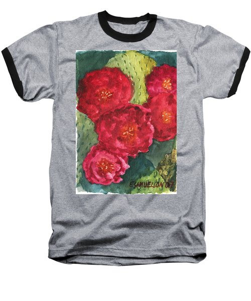 Beavertail Cactus Baseball T-Shirt