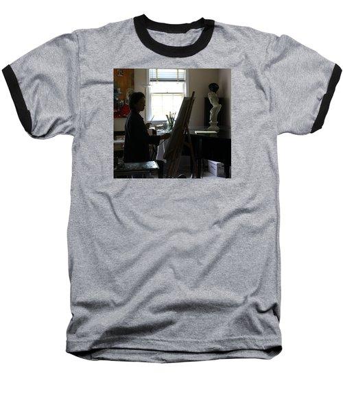 Becky Painting Chopin Baseball T-Shirt