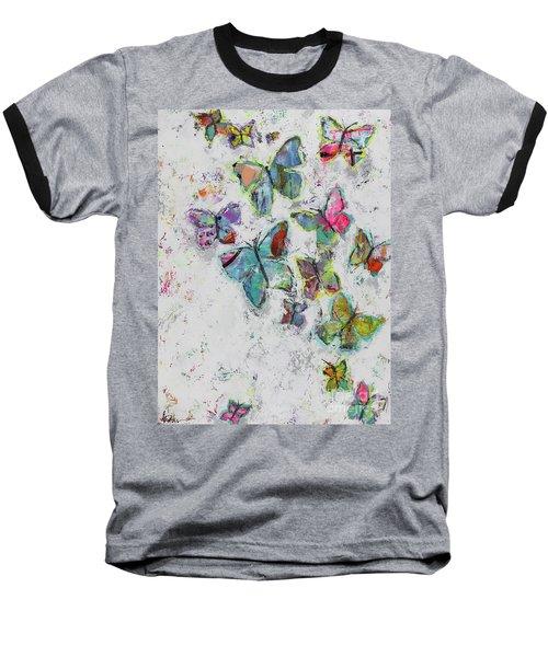 Becoming Free Baseball T-Shirt by Kirsten Reed