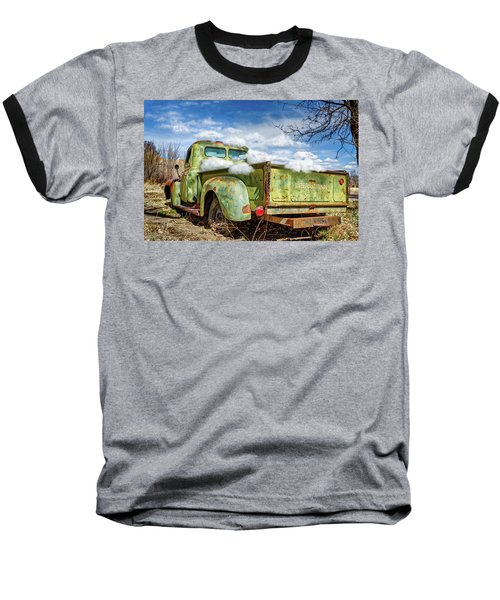 Bed Full Of Clouds Baseball T-Shirt