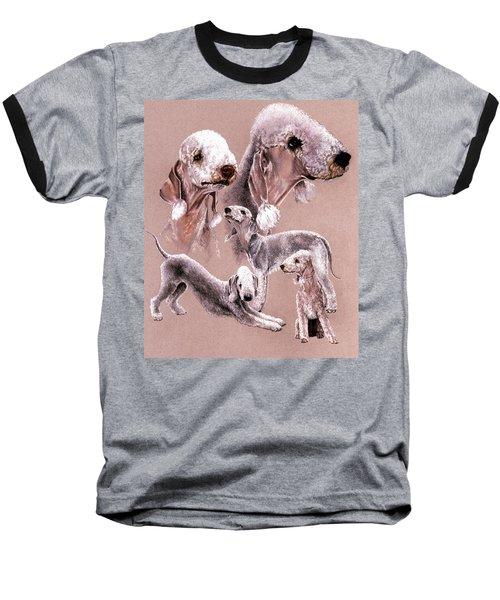 Bedlington Terrier Baseball T-Shirt