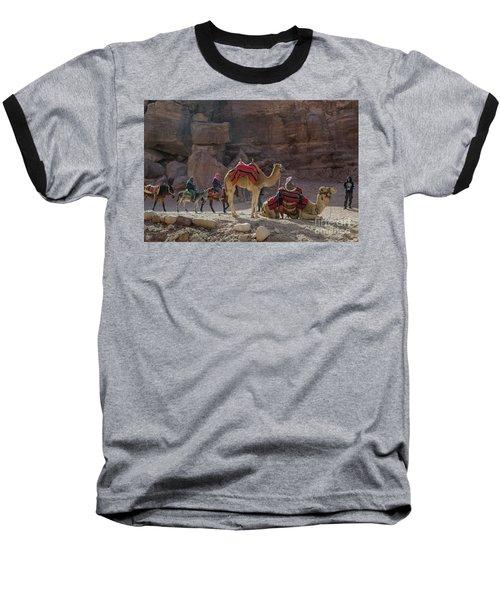 Bedouin Tribesmen, Petra Jordan Baseball T-Shirt