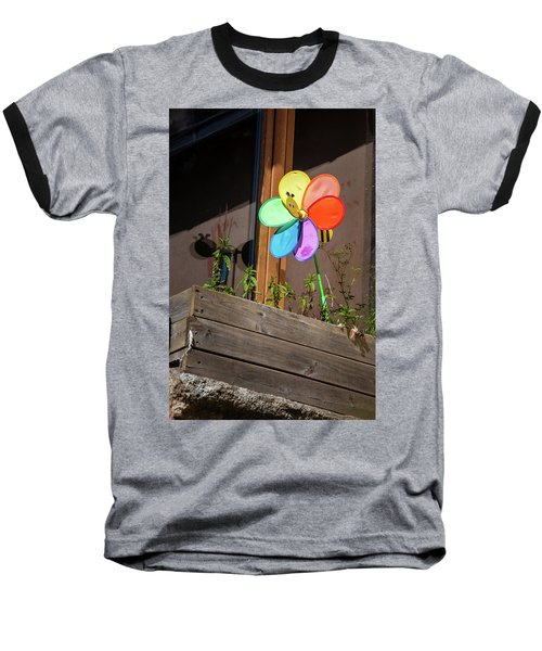 Bee A Wind Spinner? Baseball T-Shirt
