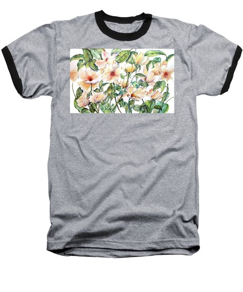 Bee Happy Baseball T-Shirt