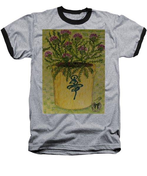 Bee Sting Crock With Good Luck Horseshoe Baseball T-Shirt