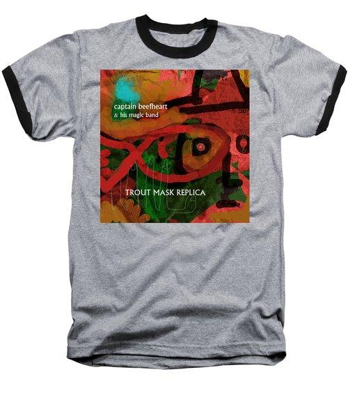 Beefheart Album Cover Baseball T-Shirt