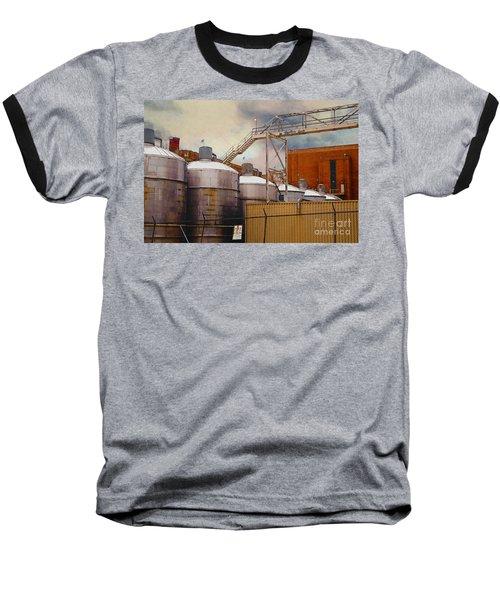 Beer Baseball T-Shirt by David Blank