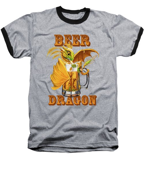 Beer Dragon Baseball T-Shirt