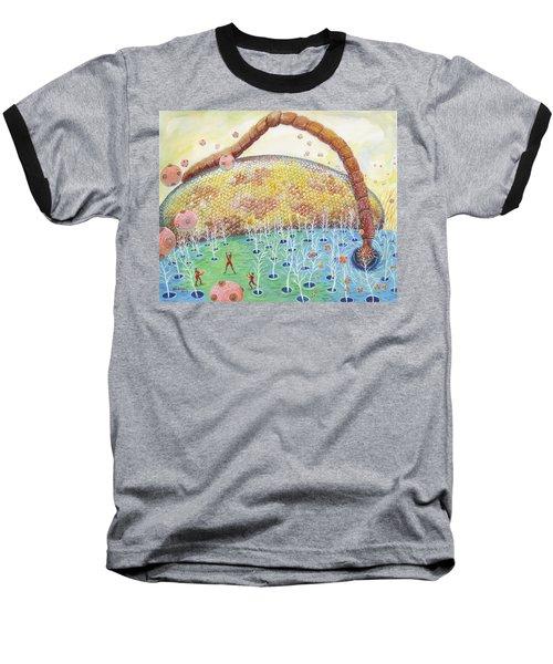 Bee's Eye And Antenna Baseball T-Shirt