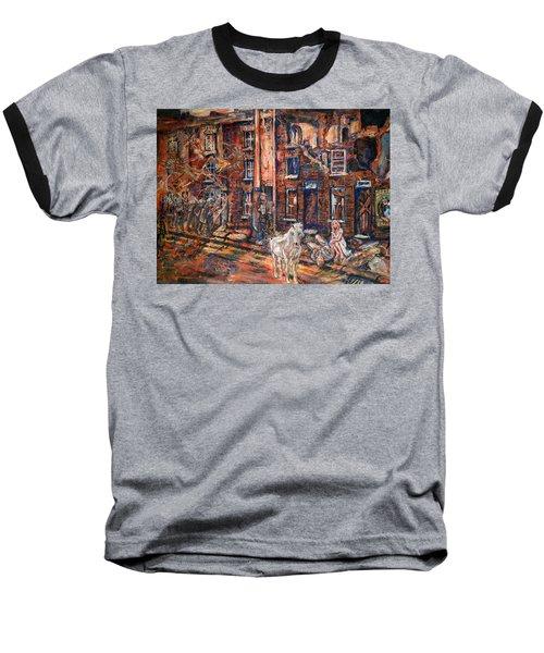 Before Gentrification Baseball T-Shirt
