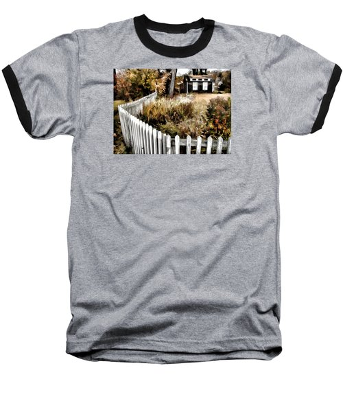 Baseball T-Shirt featuring the photograph Before Snow Flies by Betsy Zimmerli