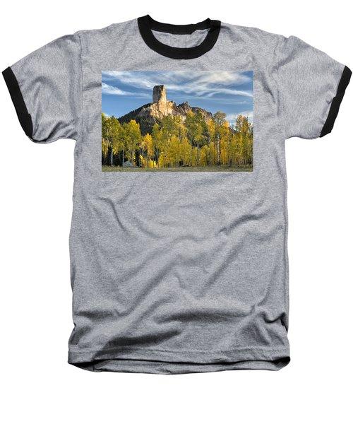 Before Sunset At Chimney Rock Baseball T-Shirt