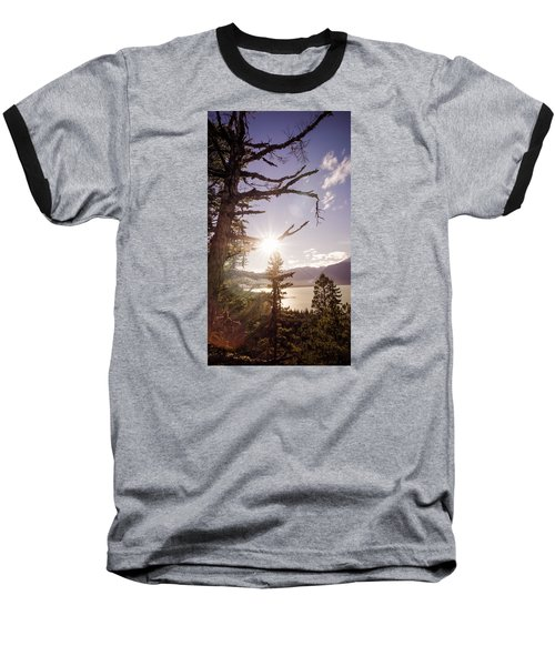 Before Sunset Baseball T-Shirt by Michele Cornelius