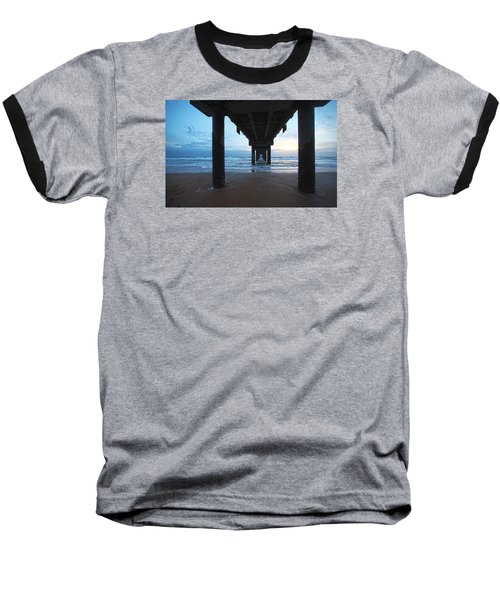 Before The Dawn Baseball T-Shirt by Robert Och