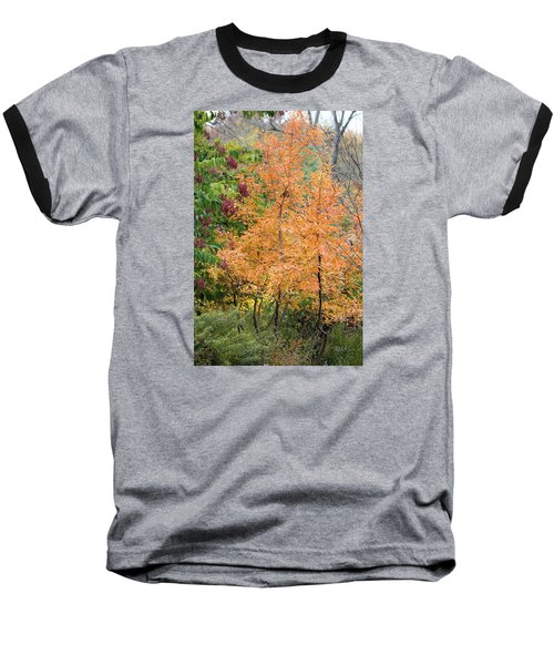 Baseball T-Shirt featuring the photograph Before The Fall by Deborah  Crew-Johnson