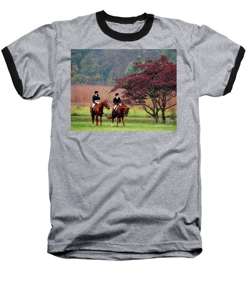 Baseball T-Shirt featuring the photograph Before The Hunt by Polly Peacock