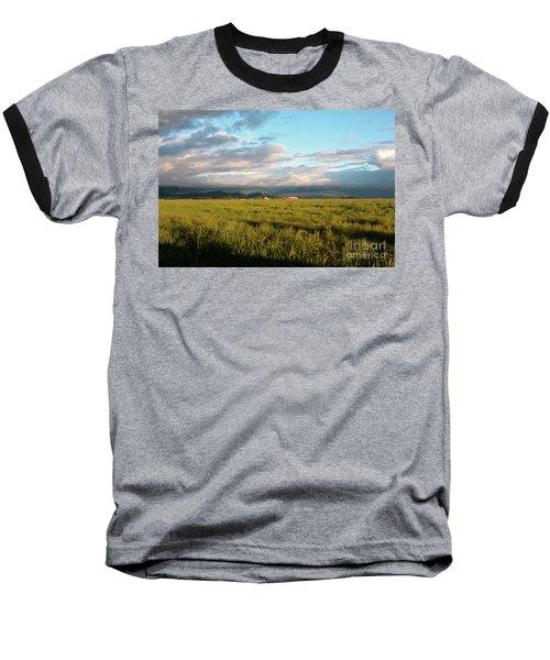 Before The Rainbow Baseball T-Shirt by Janie Johnson