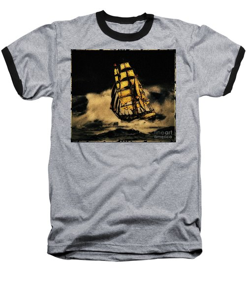 Before The Wind Baseball T-Shirt by Blair Stuart