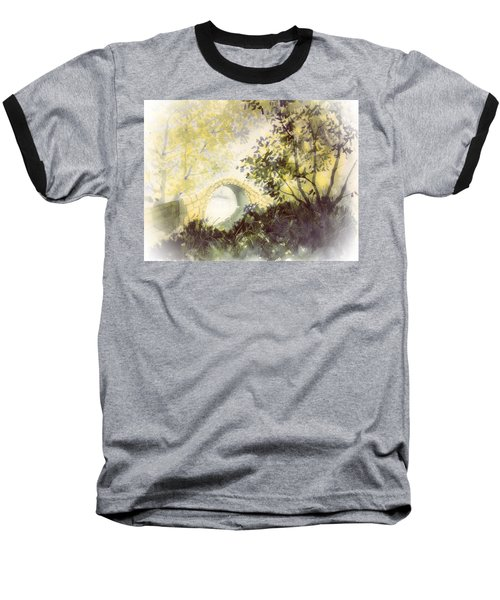 Beggar's Bridge Vignette Baseball T-Shirt