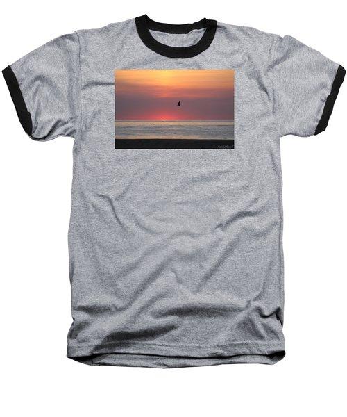 Baseball T-Shirt featuring the photograph Beginning The Day by Robert Banach