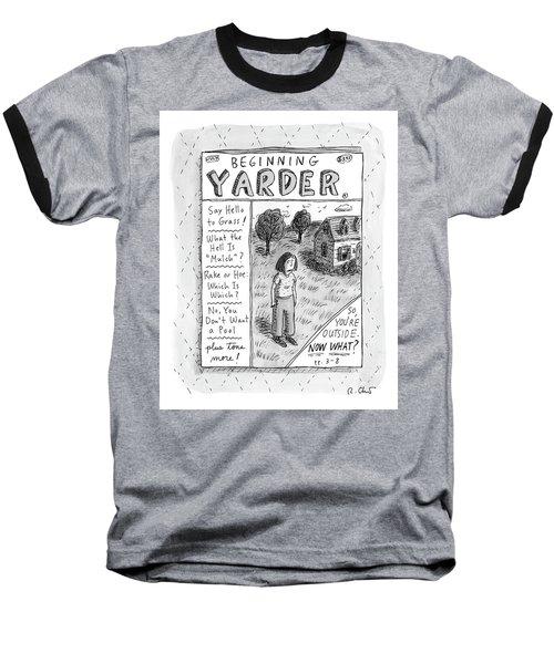 Beginning Yarder Baseball T-Shirt