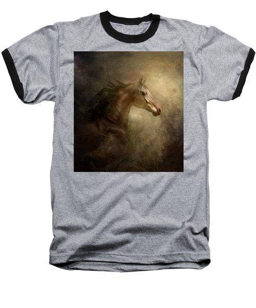 Baseball T-Shirt featuring the photograph Behind Broken Mirror by Dorota Kudyba
