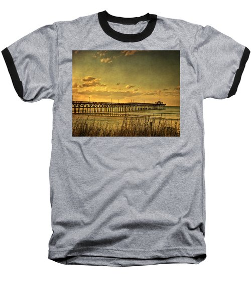 Behind Cherry Grove Pier  Baseball T-Shirt