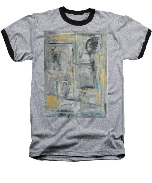 Behind The Door Baseball T-Shirt by Trish Toro