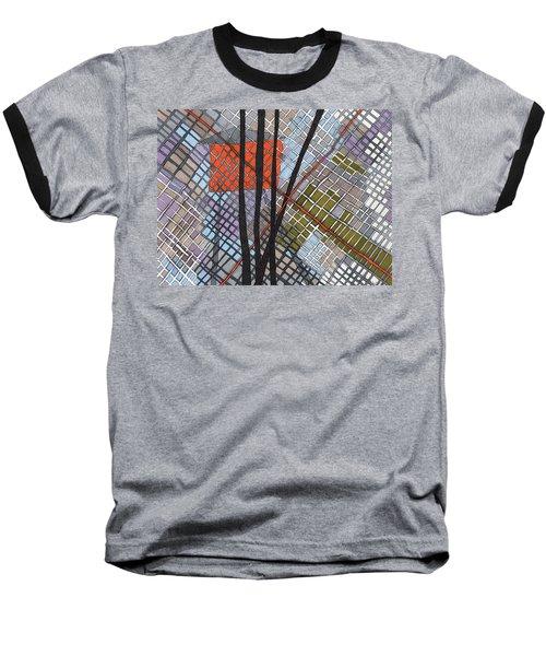 Behind The Fence Baseball T-Shirt by Sandra Church