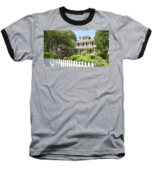 Behind The Picket Fence Baseball T-Shirt