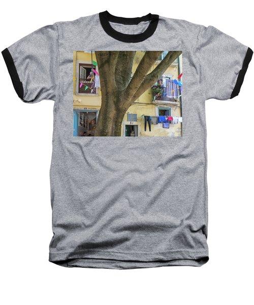 Behind The Tree Baseball T-Shirt