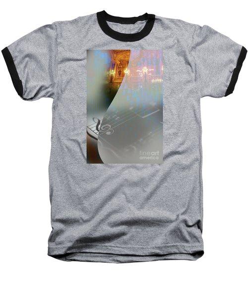 Behind The Vail Baseball T-Shirt by Allison Ashton