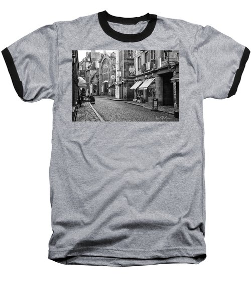Baseball T-Shirt featuring the photograph Behind The Walls 2 by Elf Evans