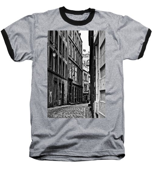 Baseball T-Shirt featuring the photograph Behind The Walls  by Elf Evans