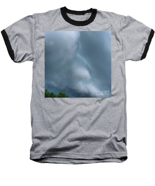 Behold He Cometh With Clouds Baseball T-Shirt