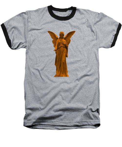 Behold I Send An Angel Before Thee Baseball T-Shirt by David Dehner